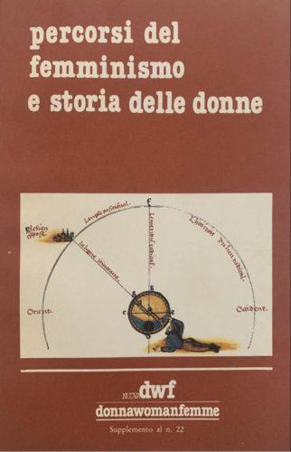 PERCORSI DEL FEMMINISMO E STORIA DELLE DONNE. Atti del Convegno di Modena 2-4 aprile, Nuova DWF (22) 1982, Supplemento