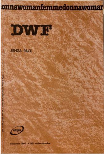 SENZA PACE, DWF (52) 2001, 4
