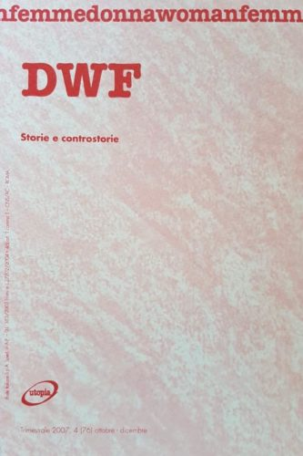 STORIE E CONTROSTORIE, DWF (76) 2007, 4