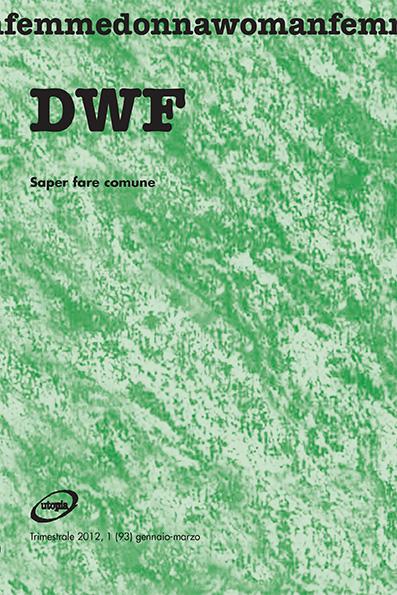 SAPER FARE COMUNE, DWF (93) 2012, 1