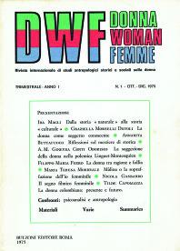 DWF, Anno I, n. 4, 1976