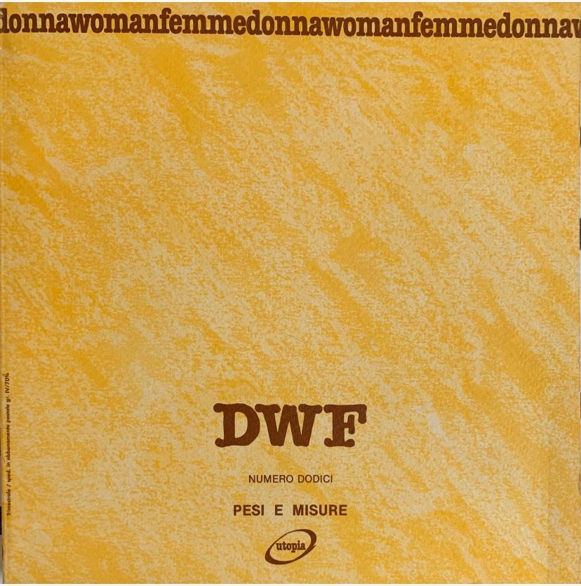 PESI E MISURE, DWF (12) 1990