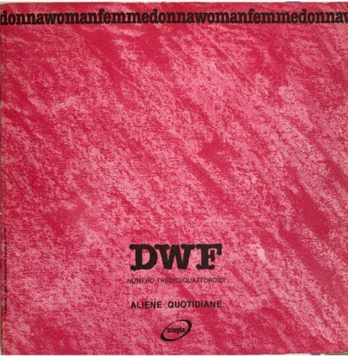 ALIENE QUOTIDIANE, DWF (13-14) 1991, 1-2