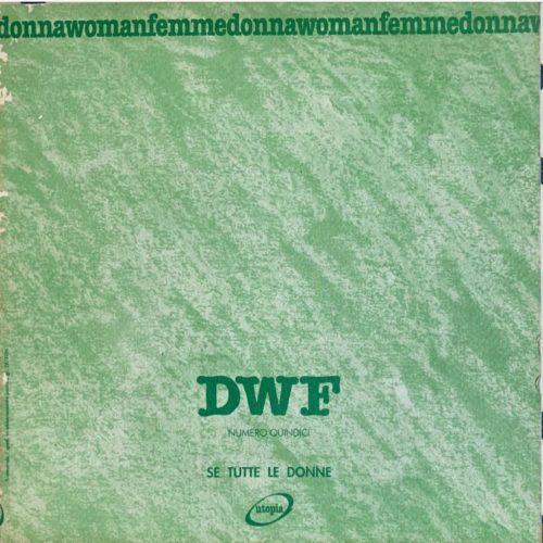 SE TUTTE LE DONNE, DWF (15) 1991, 3