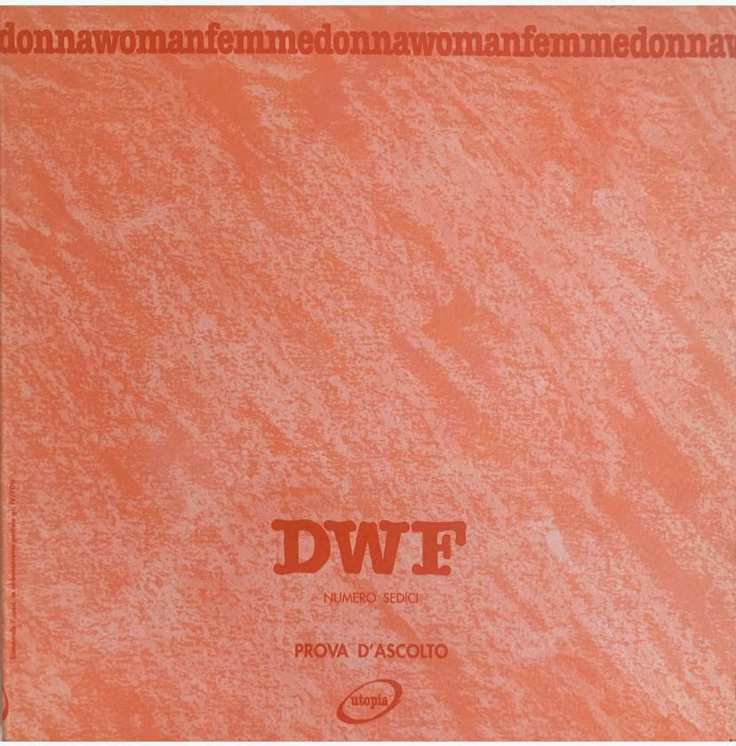 PROVA D'ASCOLTO, DWF (16) 1992