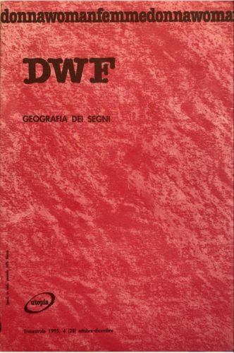 GEOGRAFIA DEI SEGNI, DWF (28) 1995, 4