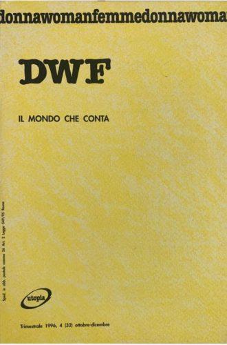 IL MONDO CHE CONTA, DWF (32) 1996, 4