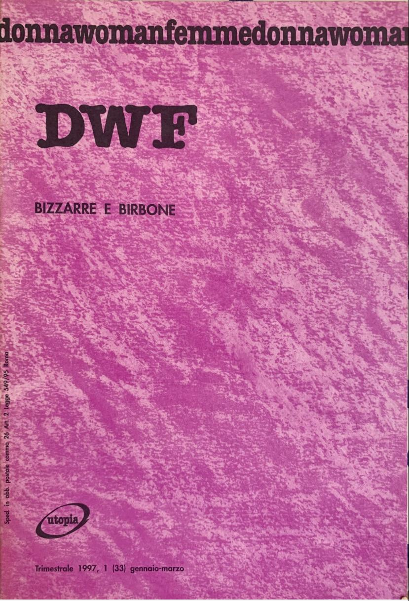 BIZZARRE BIRBONE, DWF (33) 1997, 1