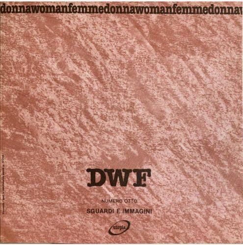 SGUARDI E IMMAGINI, DWF (8) 1989, 1