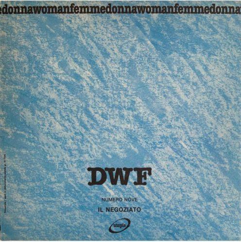 IL NEGOZIATO, DWF (9) 1989, 2