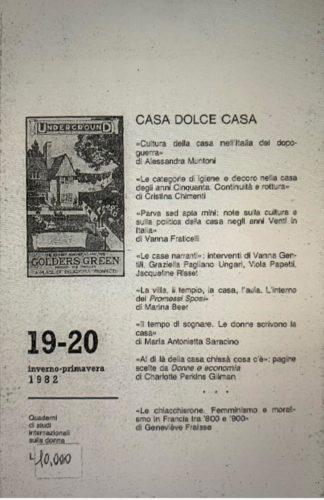 CASA DOLCE CASA, Nuova DWF (19-20) 1982