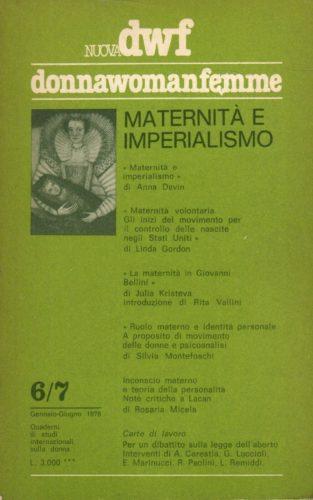 MATERNITÀ E IMPERIALISMO, Nuova DWF (6-7) 1978